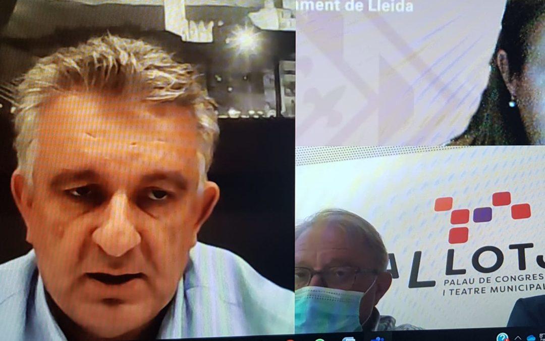 La Regidoria de Promoció Econòmica i Emprenedoria traslladarà les peticions del teixit empresarial de Lleida a la Generalitat i l'Estat