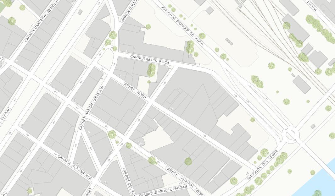 La Paeria millora el paviment al carrer Lluís Roca