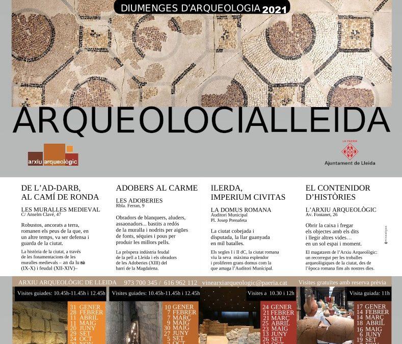 Nou calendari de visites guiades als espais de l'Arxiu Arqueològic
