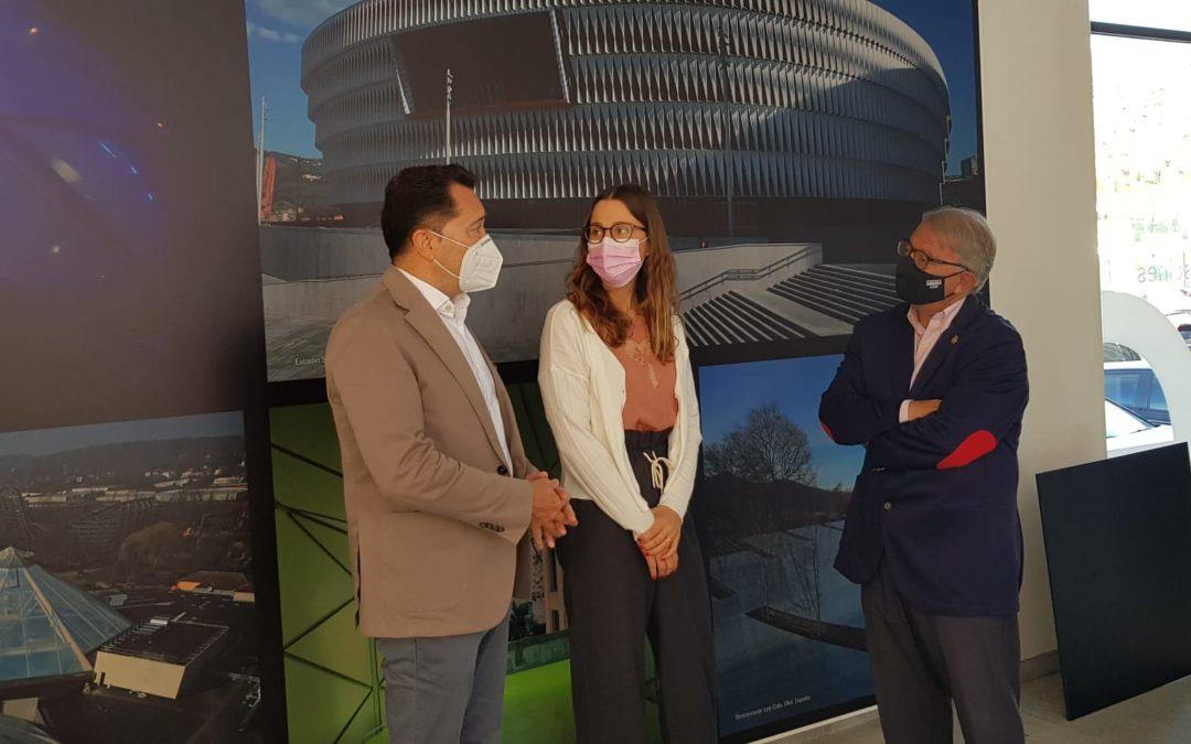 Paco Cerdà es reuneix amb l'empresa IASO de Lleida