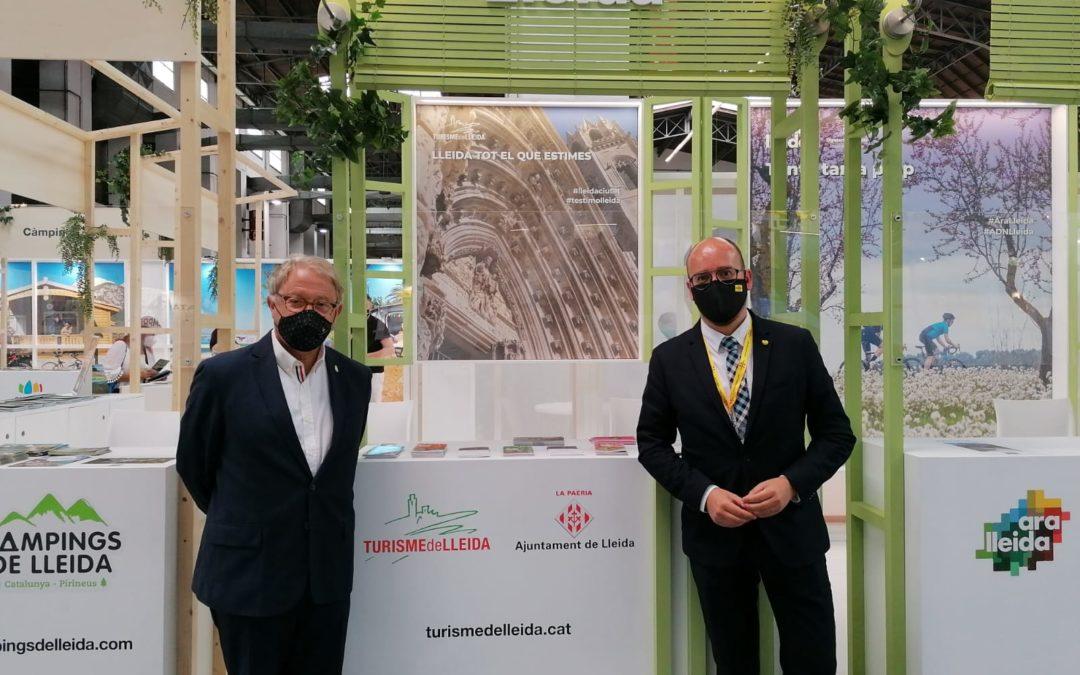 Lleida participa en la Fira B-Travel per a promocionar l'oferta turística