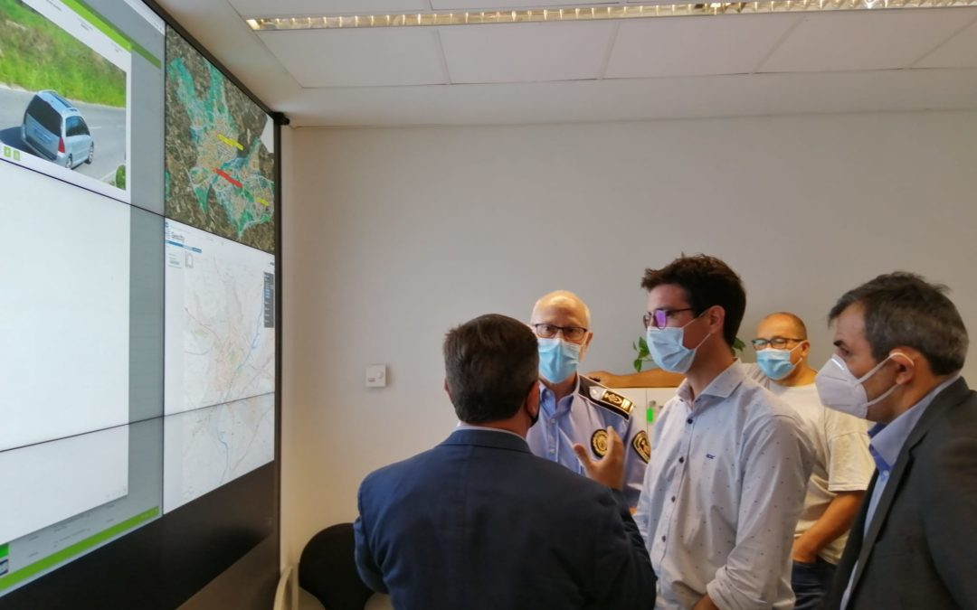 La Paeria posa en funcionament les càmeres de videovigilància instal·lades a l'Horta de Lleida