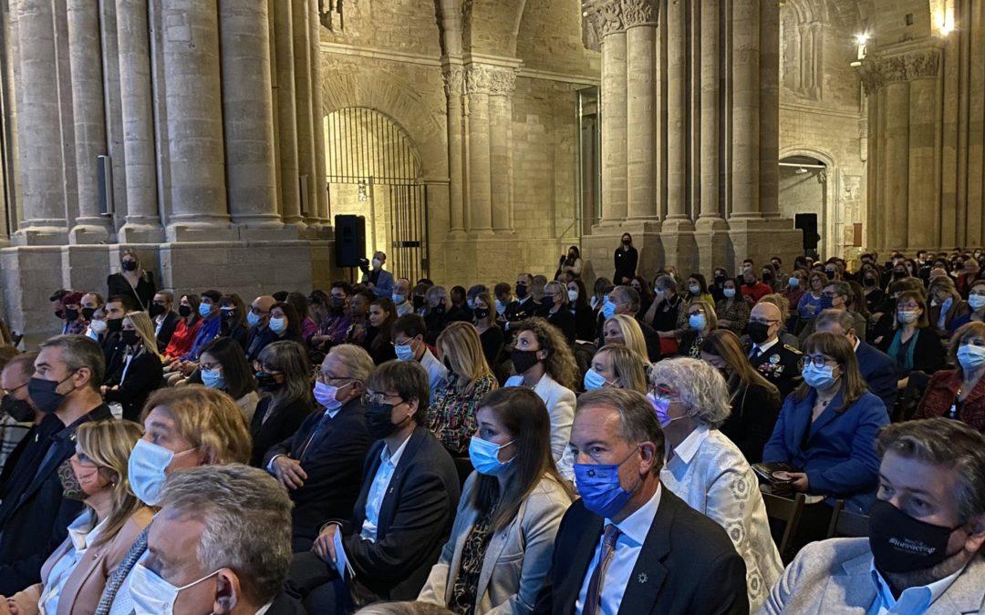 L'Associació d'Empresàries de Lleida lliura els Premis AP! a la Seu Vella